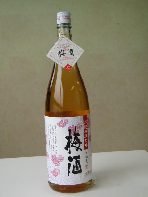 彩煌の梅酒